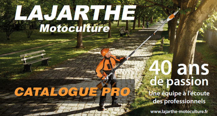 Parution du catalogue PRO 2016