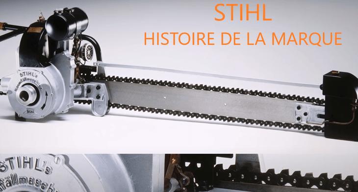 STIHL HISTOIRE DE LA MARQUE